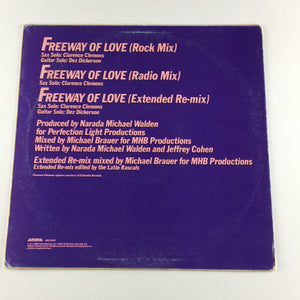 "Aretha Franklin Freeway Of Love Used 12"" Single VG+ AD1-9355, AD-1-9355"