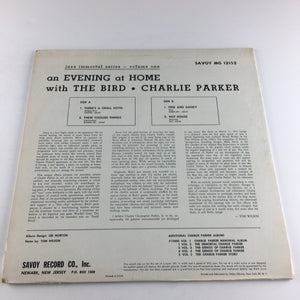 Charlie Parker An Evening At Home With The Bird Used Vinyl LP VG+\VG MG-12152