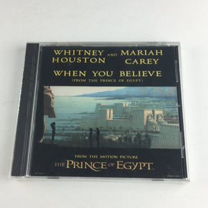 Whitney Houston Mariah Carey When You Believe New Sealed CD Single M DRMDS-59022