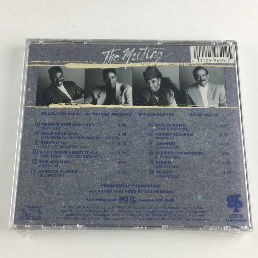 The Meeting The Meeting New Sealed CD M GRD-9620