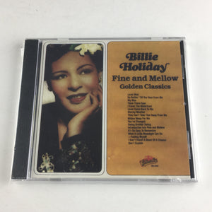 Billie Holiday Fine And Mellow Used CD M\VG+ COL-CD-5142, COL-5142
