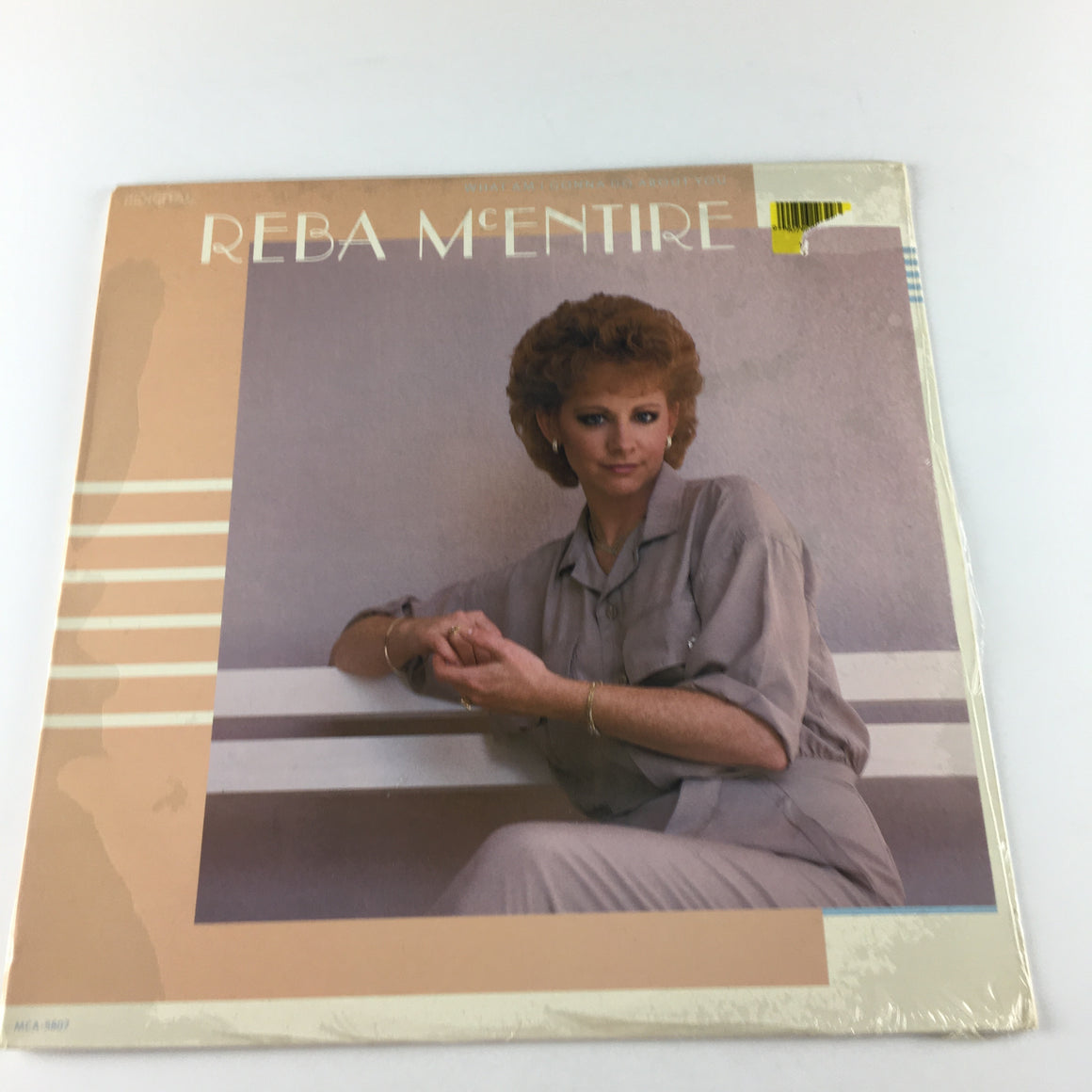 Reba McEntire What Am I Gonna Do About You Used Vinyl LP M\VG+ MCA-5807