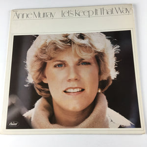 Anne Murray Let's Keep It That Way Used LP VG\VG+ ST-11743