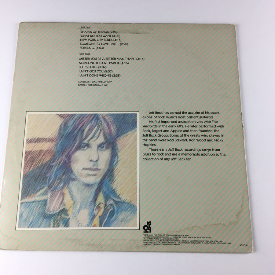 Jeff Beck Early Anthology Used LP VG+ SN-7141