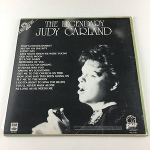 Judy Garland The Legendary Judy Garland Used Vinyl 2LP VG+ PDL 2-1127