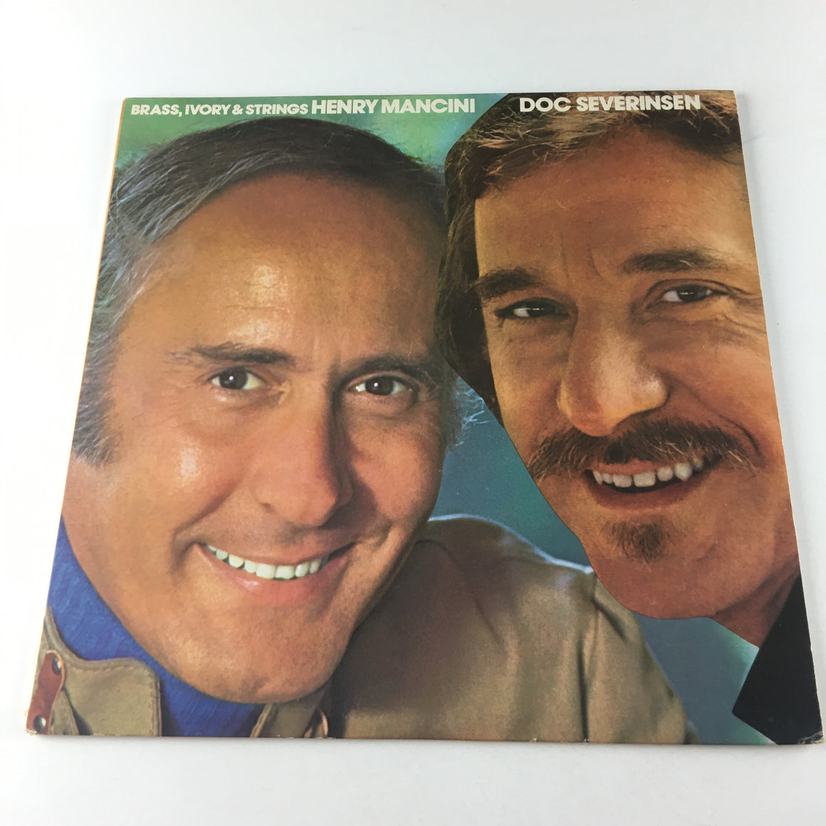 Henry Mancini And Doc Severinsen Brass, Ivory & Strings Used Vinyl LP VG+ APD1-0098