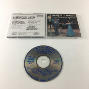 Lawrence Welk 22 All Time Favorite Waltzes Used CD VG+ 7028-2