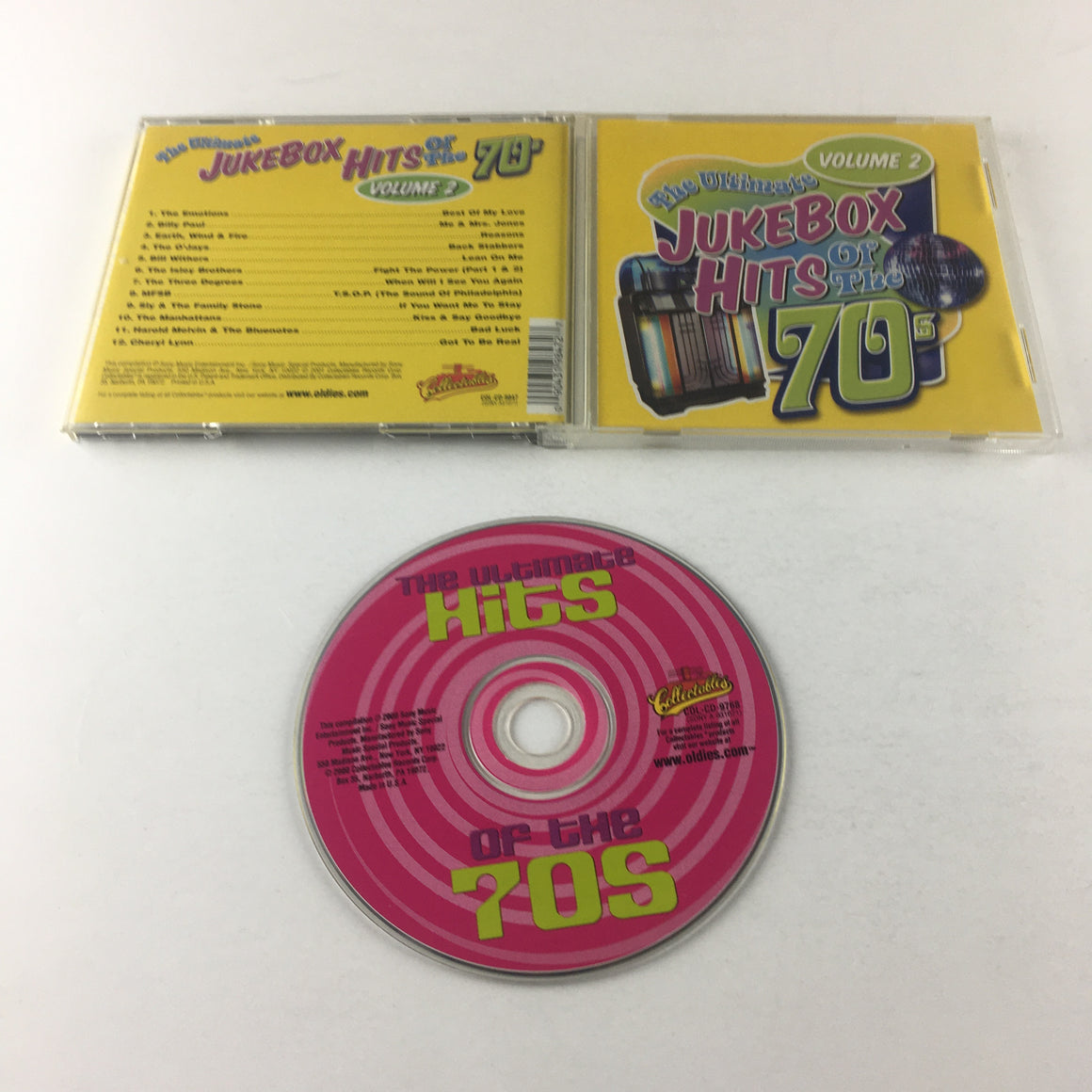 The Ultimate Jukebox Hits Of The 70s Volume 2 Used CD VG+ COL-CD-9847, SONY A31077, A 31077