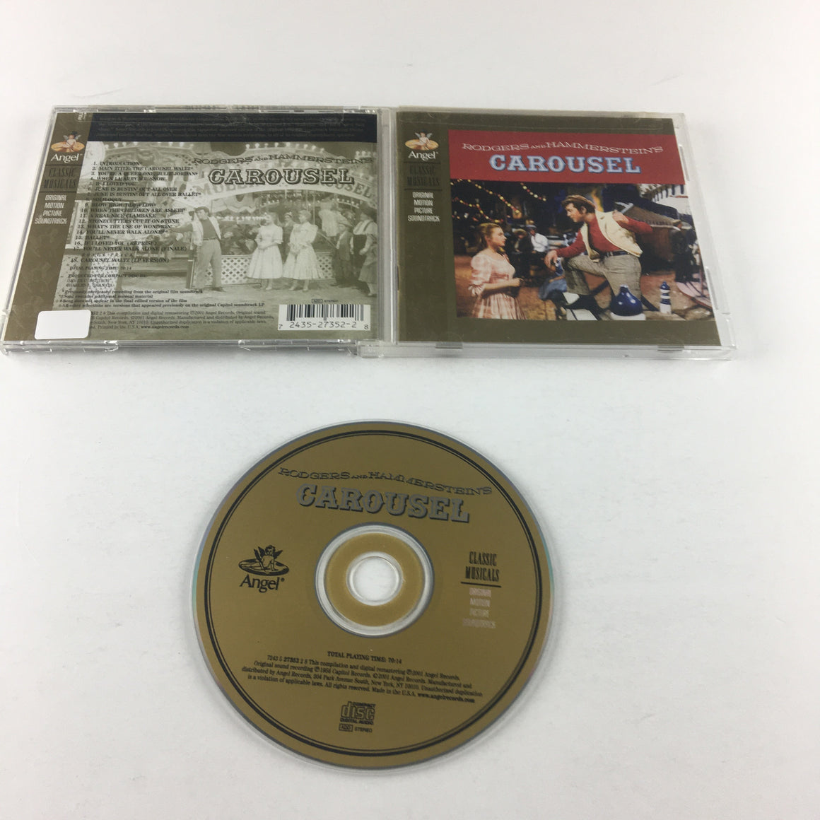 Rodgers & Hammerstein Carousel Used CD VG+ 7243 5 27352 2 8