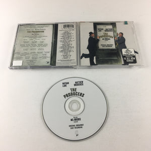 The Producers New Mel Brooks Musical - Original Broadway Cast Used CD VG SK 89646