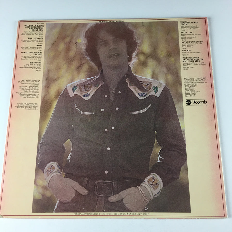 B.J. Thomas Reunion Used LP VG+ ABDP-858