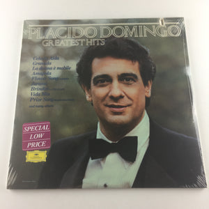 Placido Domingo Greatest Hits Used Vinyl LP M\VG+ 2721 259