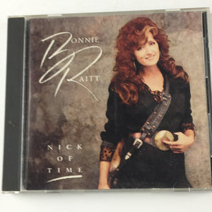 Bonnie Raitt ‎– Nick Of Time Used CD VG+ CDP 7 91268 2