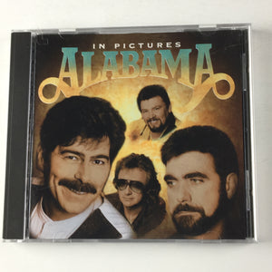 Alabama In Pictures Used CD VG+ BG2 66525