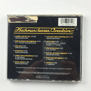 Bachman-Turner Overdrive BTO's Greatest Used CD VG+ 830 039-2