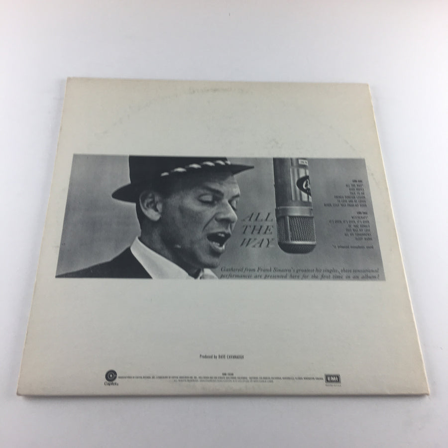 Frank Sinatra All The Way Used Vinyl LP VG+\VG SM-1538