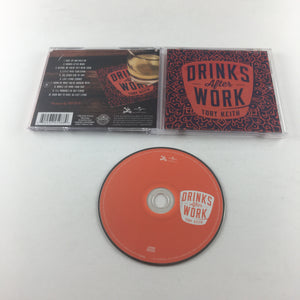 Toby Keith Drinks After Work Used CD VG B0018816-2