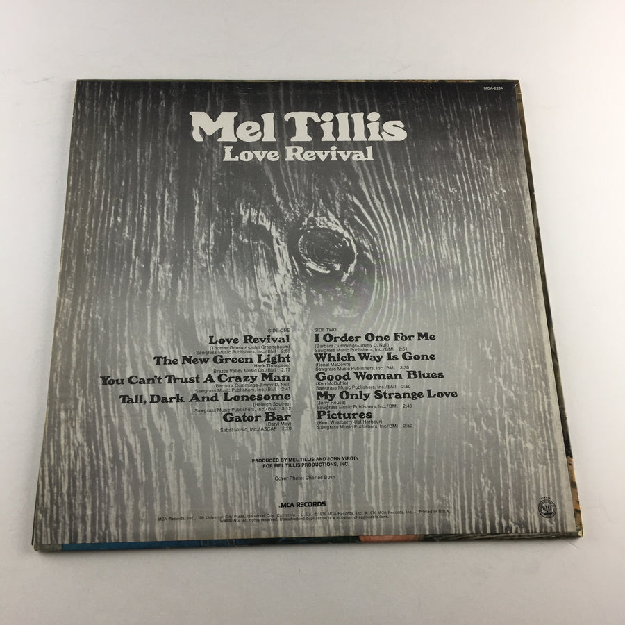 Mel Tillis Love Revival Used Vinyl LP VG+ MCA-2204