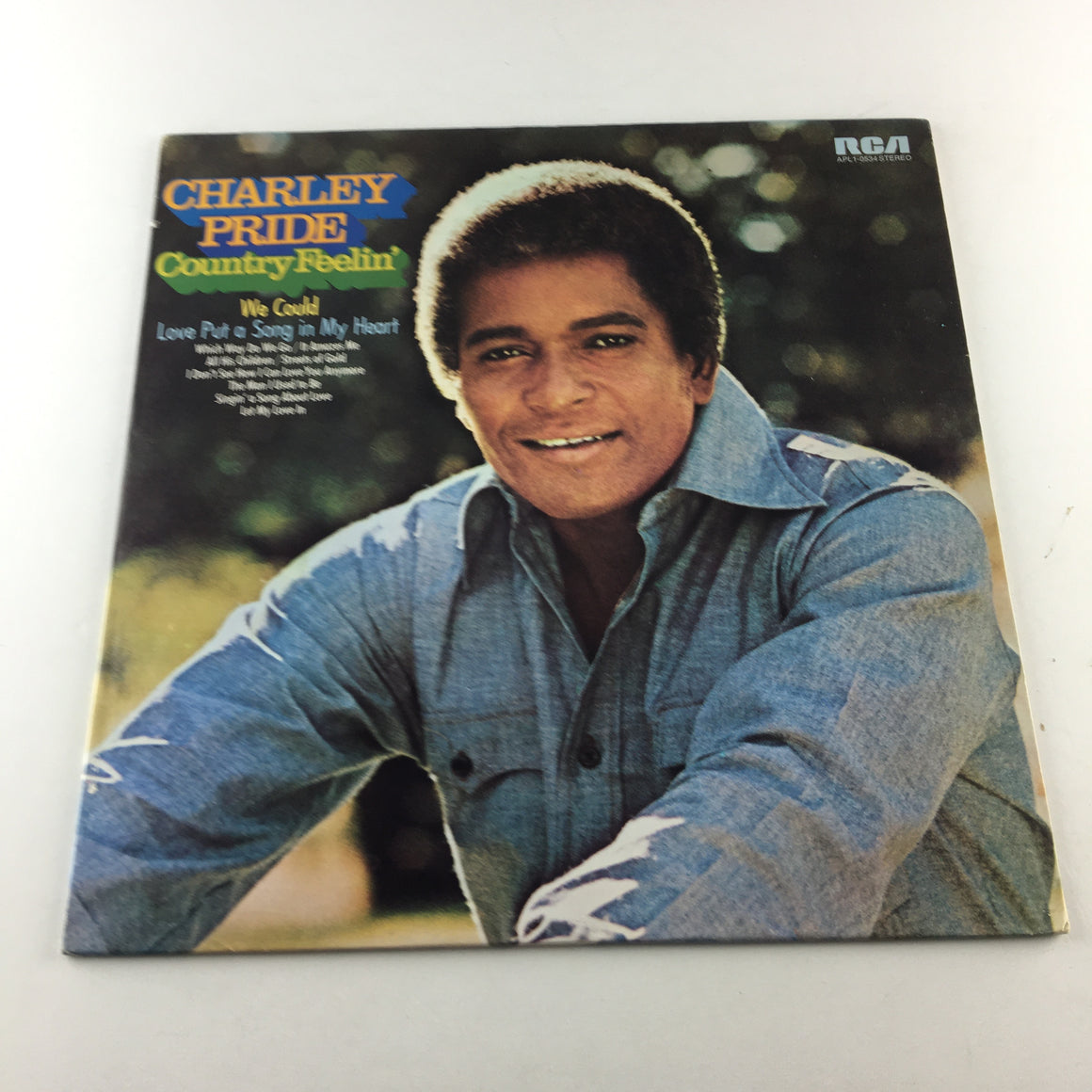 Charley Pride Country Feelin' Used Vinyl LP VG+\VG APL1-0534