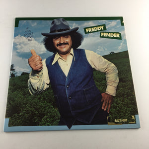 Freddy Fender If You Don't Love Me Used Vinyl LP VG+\VG DO-2090