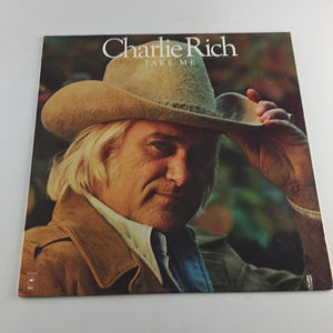 Charlie Rich Take Me Used Vinyl LP VG+ KE 34444, 34444