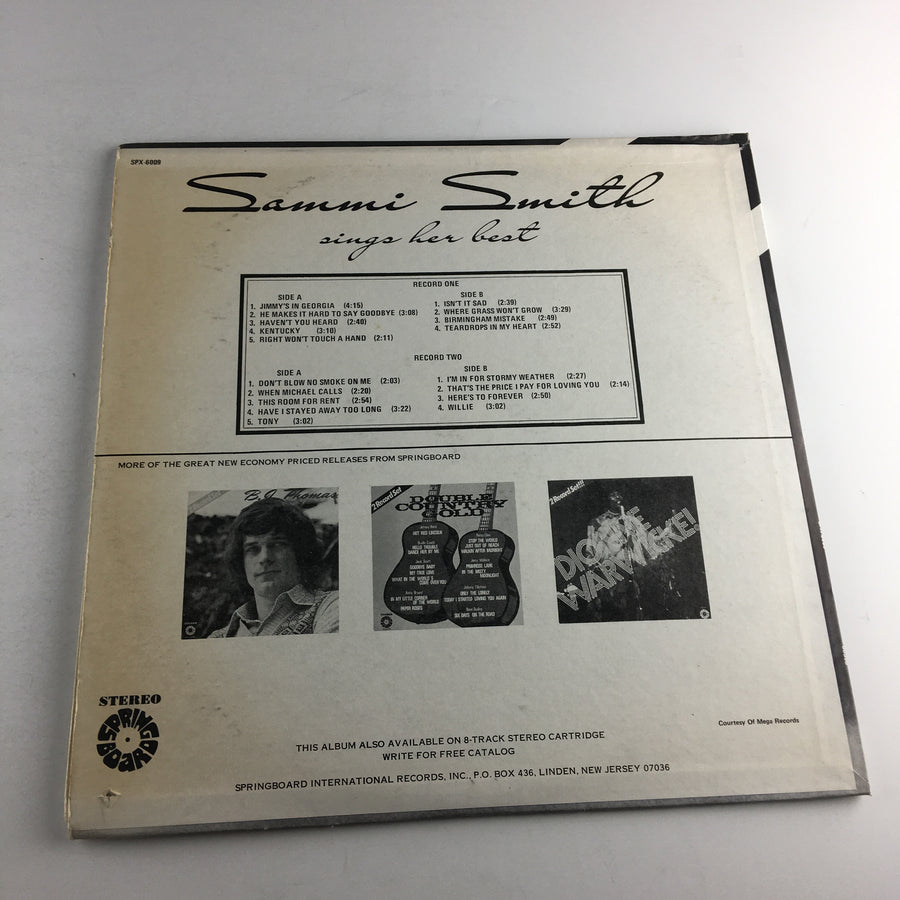Sammi Smith Sings Her Best Used Vinyl LP VG+\VG SPX-6009