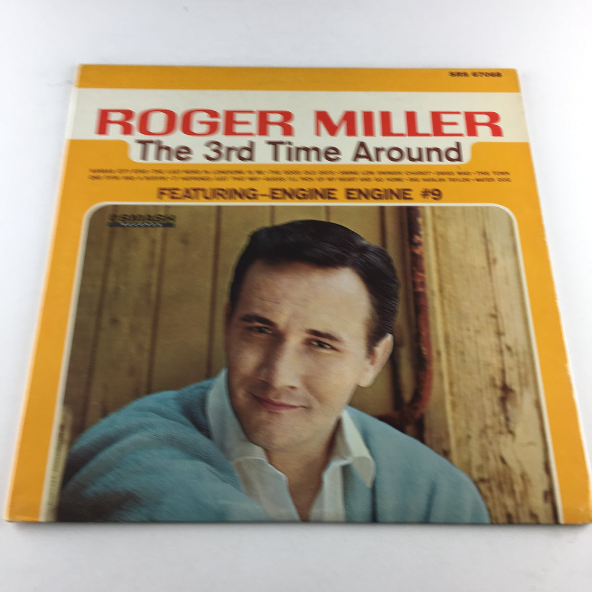 Roger Miller The 3rd Time Around Used Vinyl LP VG+\VG SRS 67068