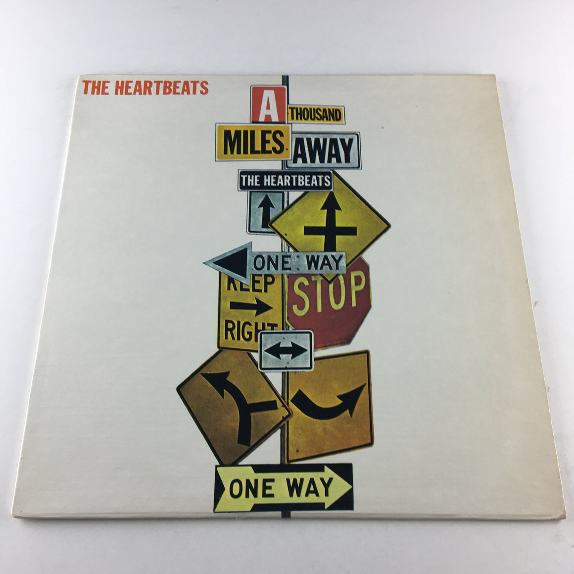 The Heartbeats A Thousand Miles Away Used Vinyl LP VG+ SR-59019
