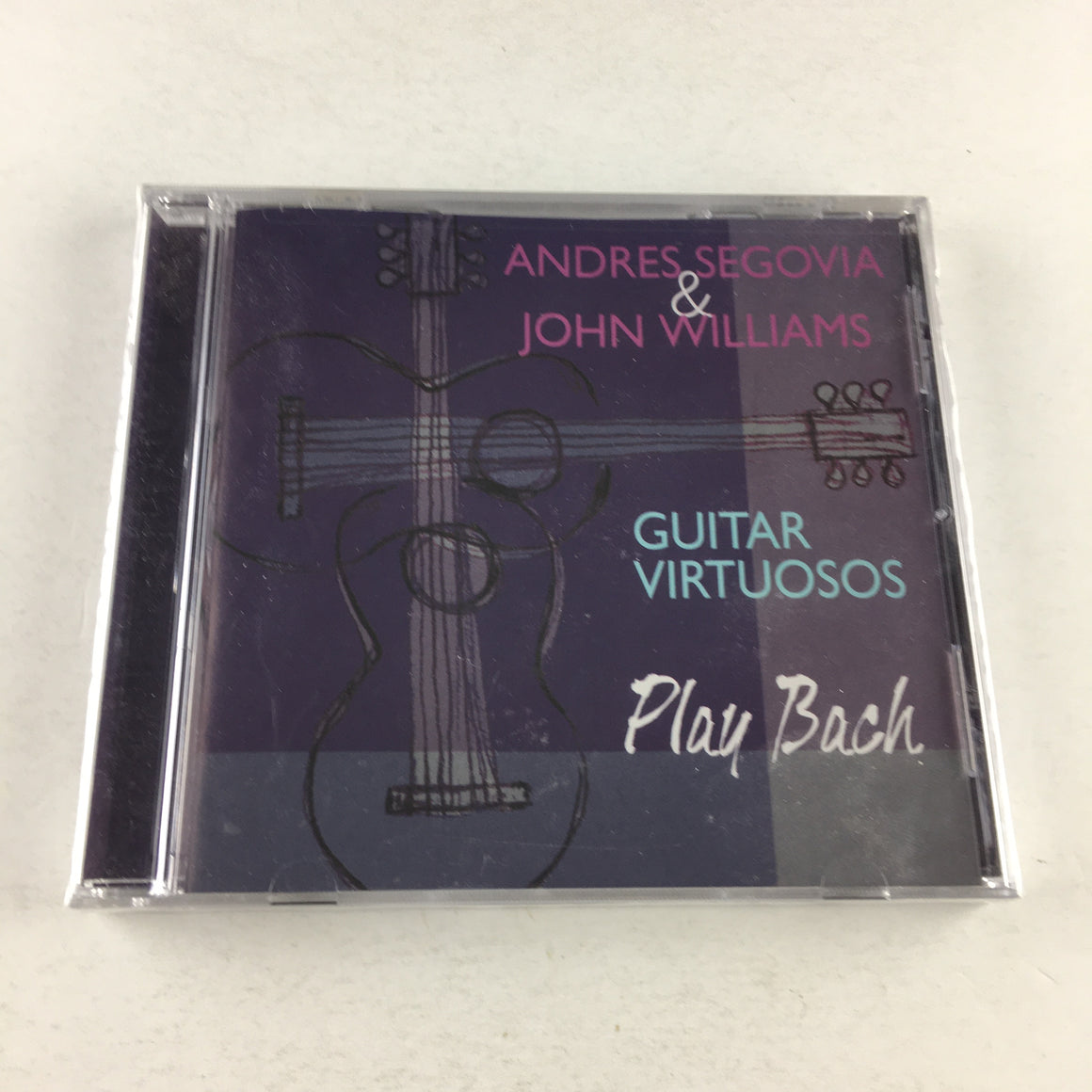 Andres Segovia John Williams Guitar Virtuosos Play Bach M CD Sealed