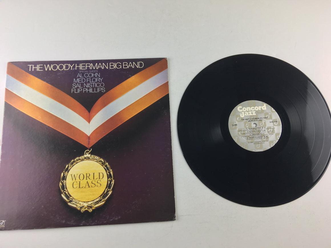 The Woody Herman Big Band World Class Used Vinyl LP VG+\VG CJ-240