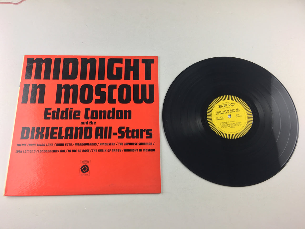 Eddie Condon And His All-Stars Midnight In Moscow Used Vinyl LP VG+ LA 16024