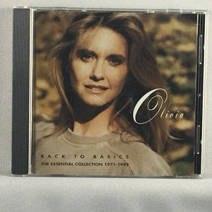 Olivia ‎– Back To Basics: The Essential Collection 1971 - 1992 - Orig Press Used CD VG+