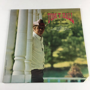 Tom T. Hall For The People In The Last Hard Town Used LP VG+ SRM-1-687