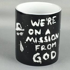 Blues Brothers On A Mission From God Coffee Mug - Beautiful, Unique Gift!