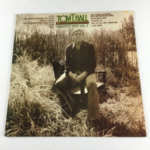 Tom T. Hall Greatest Hits, Vol. 2 Used LP VG+ SRM-1-1044