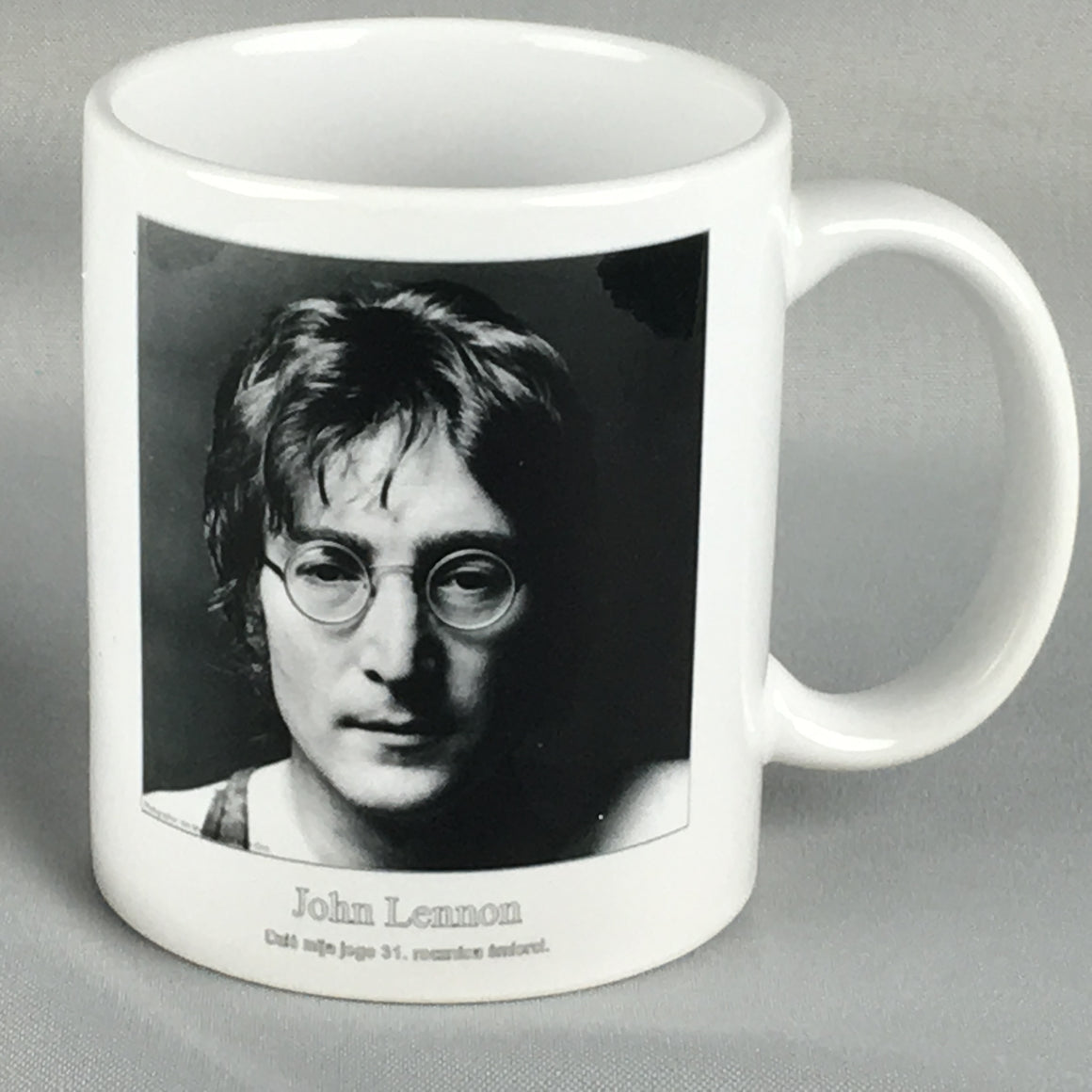 John Lennon Coffee Mug - Beautiful, Unique Gift!