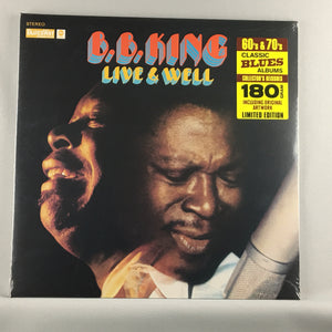 B.B. King ‎– Live & Well - New Sealed 180 Gram Ltd Ed LP