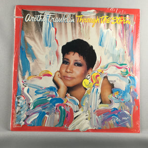 Aretha Franklin ‎– Through The Storm - Used Sealed LP - M\VG