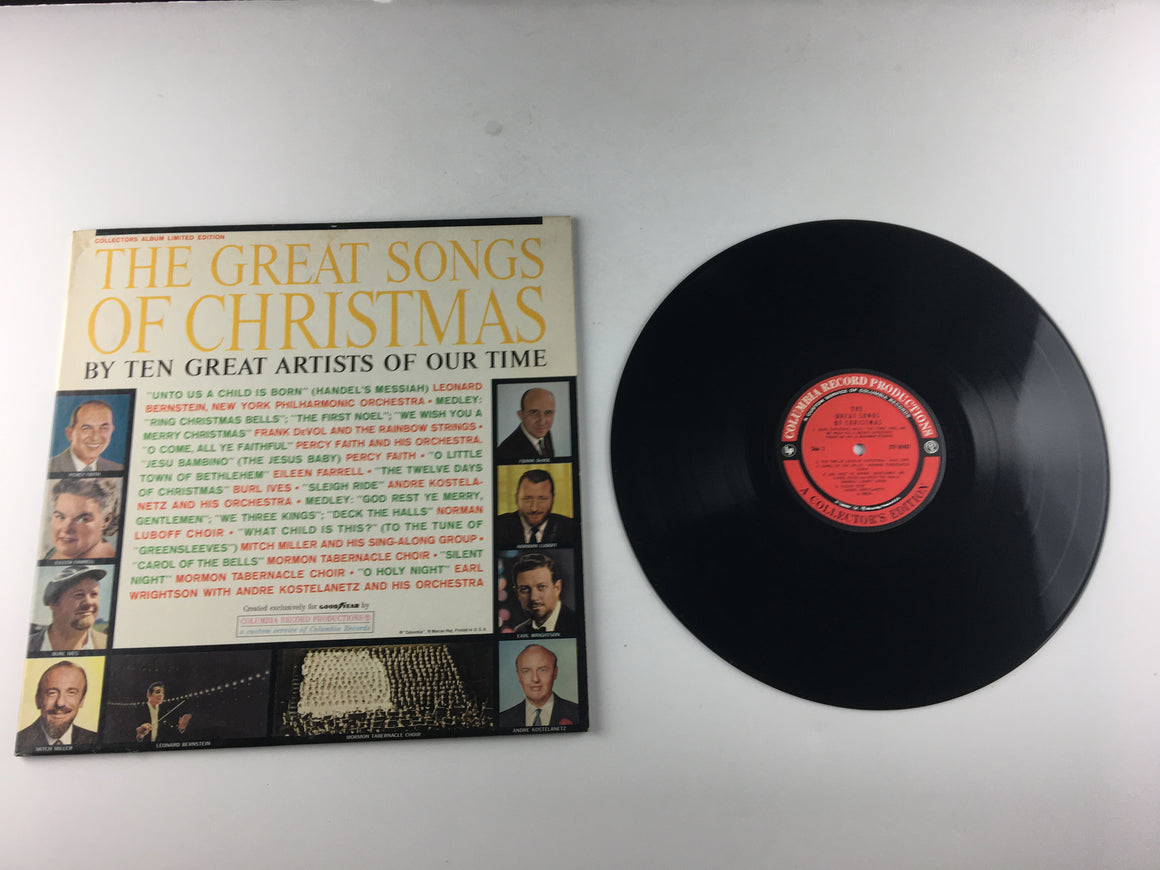 The Great Songs Of Christmas Used Vinyl LP VG+\VG