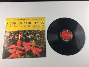 Percy Faith & His Orchestra Music Of Christmas Used Vinyl LP VG+ CS 8176