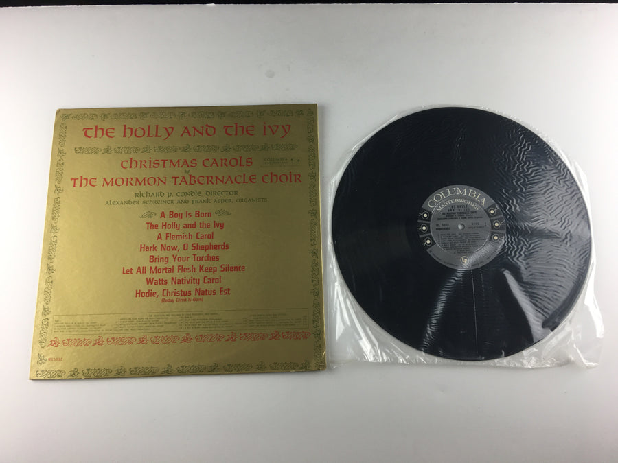 Mormon Tabernacle Choir The Holly And The Ivy Used Vinyl LP NM ML 5592, ML5592