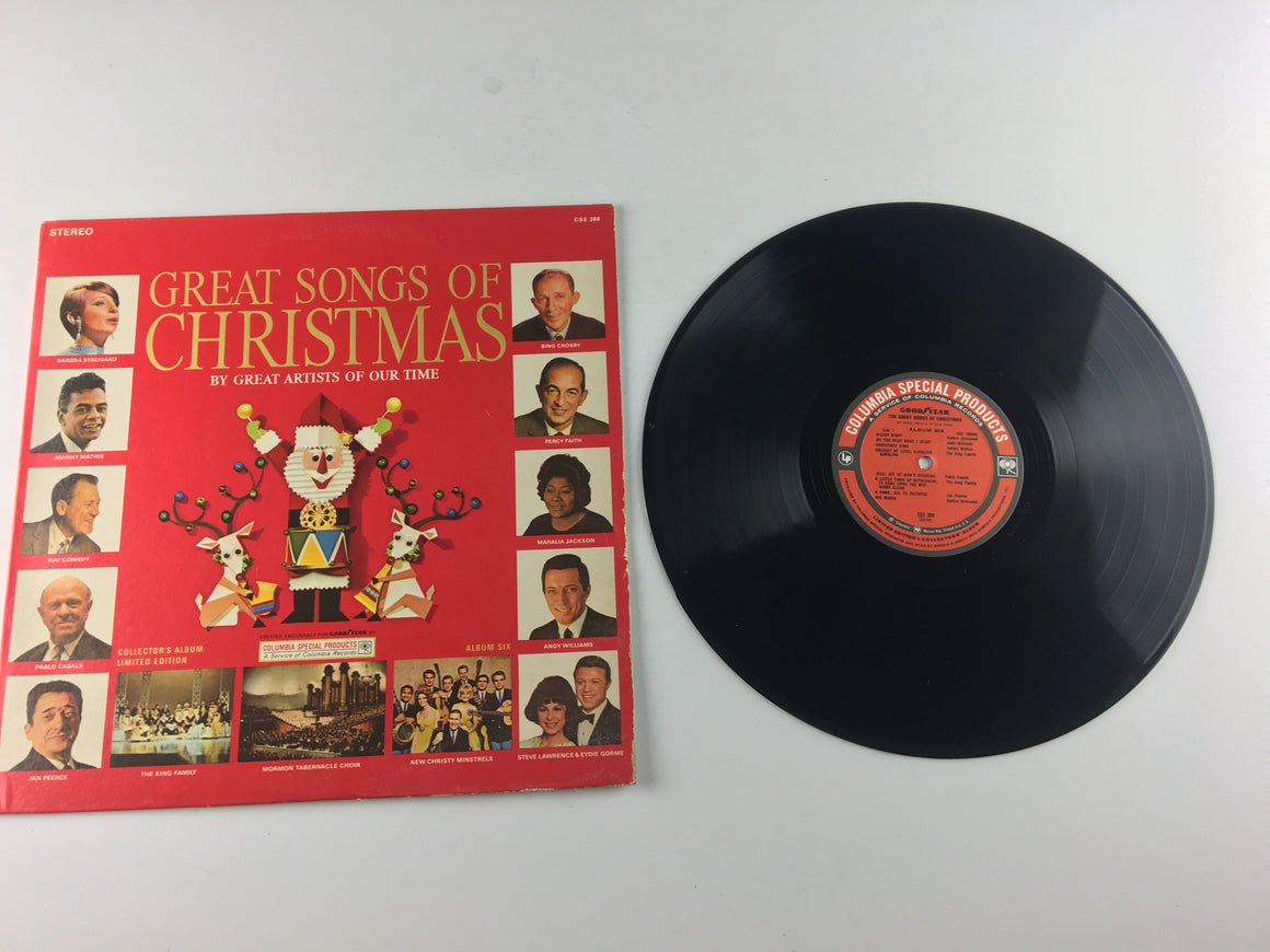 The Great Songs Of Christmas Album Six Used Vinyl LP VG+\VG CSS 388