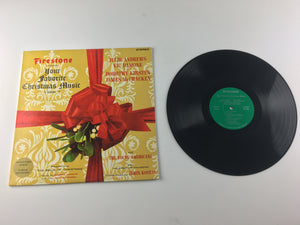 Firestone Your Favorite Christmas Music Volume 4 Used Vinyl LP VG+ SLP 7011