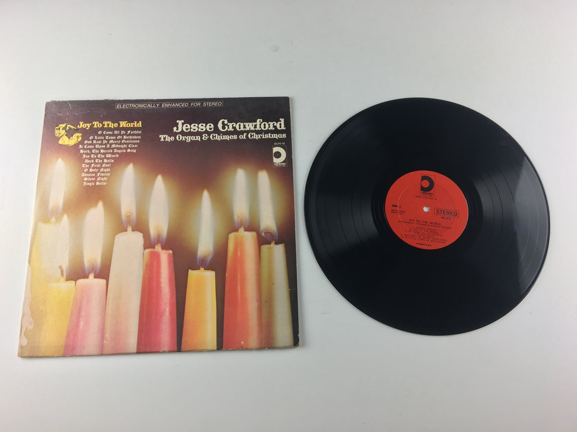 Jesse Crawford The Organ & Chimes Of Christmas Used Vinyl LP VG+\VG DLPX-16, SDLP-X-16