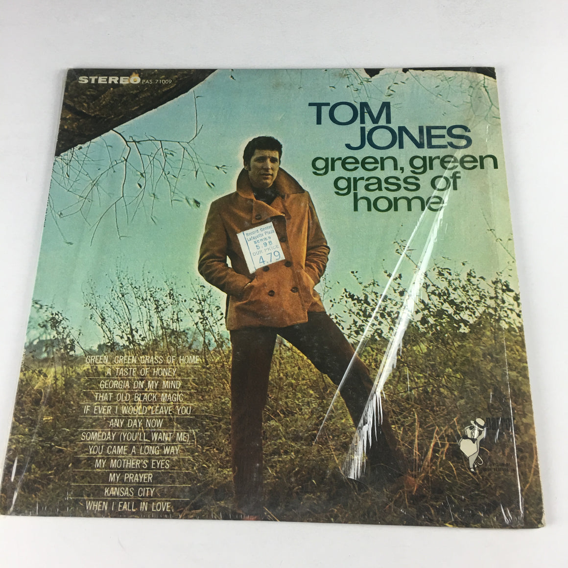 Tom Jones Green Green Grass Of Home Used LP VG PAS-71009, PAS 71009
