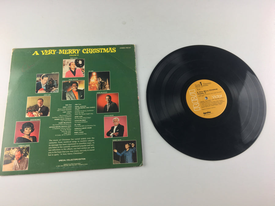 A Very Merry Christmas, Volume VI Used Vinyl LP VG+ PRS-427
