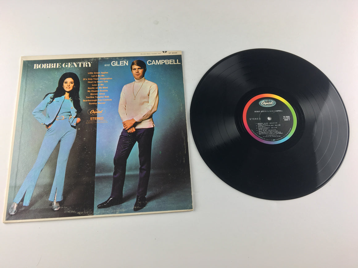 Bobbie Gentry And Glen Campbell Used Vinyl LP VG+ ST 2928, ST-2928
