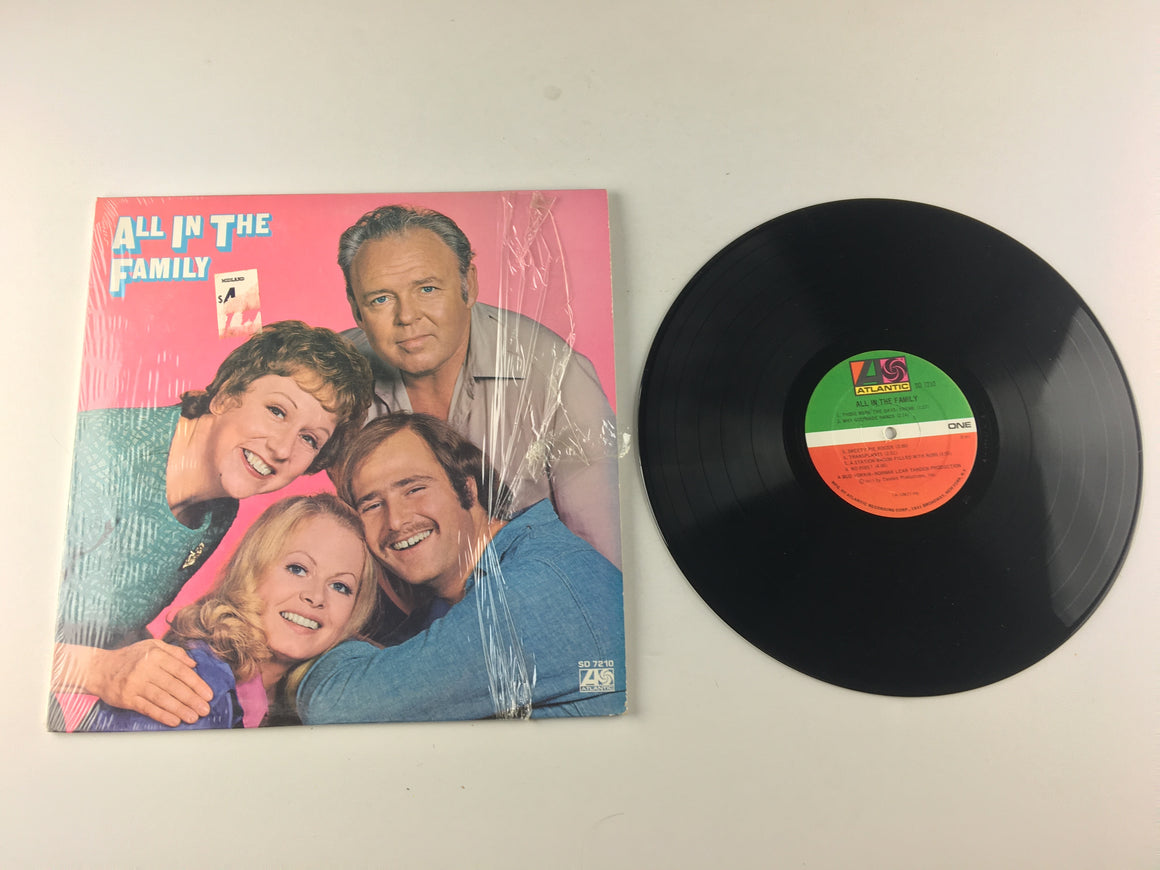 """All In The Family"" Cast All In The Family Used Vinyl LP VG+ SD 7210"