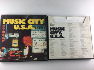 Various Music City, U.S.A. Used Vinyl Box Set VG+ 6P 6626