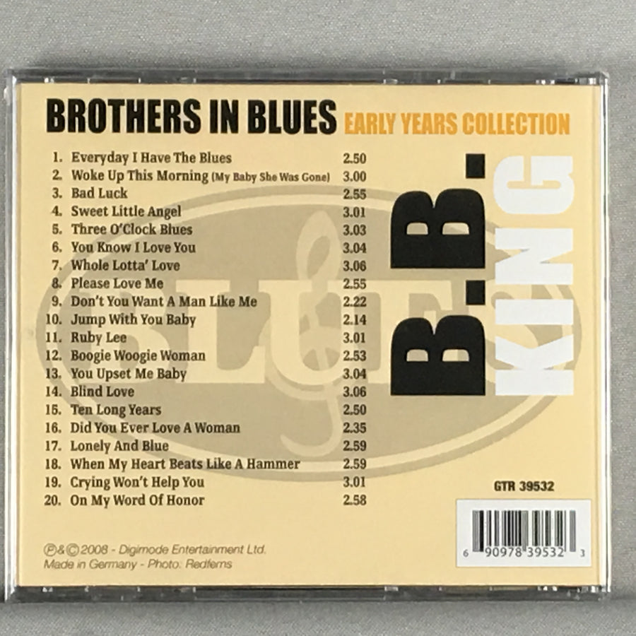 B.B. King Brothers In Blues: Early Years Collection - New Sealed CD